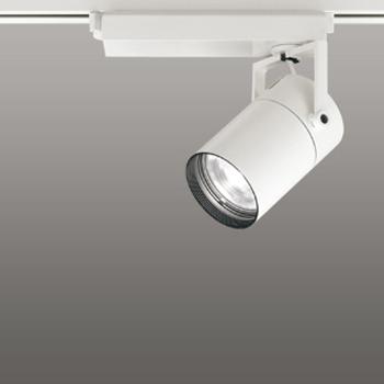 【送料無料】オーデリック LEDスポットライト CDM-T35W相当 3000K Ra83 配光角62° オフホワイト レール取付専用 XS512129