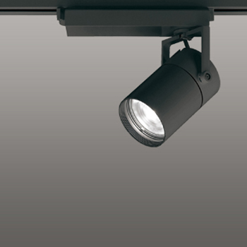 【送料無料】オーデリック LEDスポットライト CDM-T35W相当 3500K Ra95 配光角スプレッド ブラック 調光可能 レール取付専用 XS512136HC