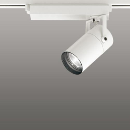 【送料無料】オーデリック LEDスポットライト CDM-T35W相当 3500K Ra95 配光角スプレッド オフホワイト 調光可能 レール取付専用 XS513135HC