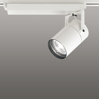 【送料無料】オーデリック LEDスポットライト CDM-T70W相当 4000K Ra83 配光角15° オフホワイト 調光可能 レール取付専用 XS511101BC