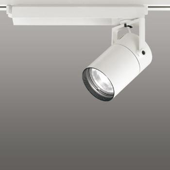 【送料無料】オーデリック LEDスポットライト CDM-T70W相当 3000K Ra83 配光角15° オフホワイト 調光可能 レール取付専用 XS511105BC