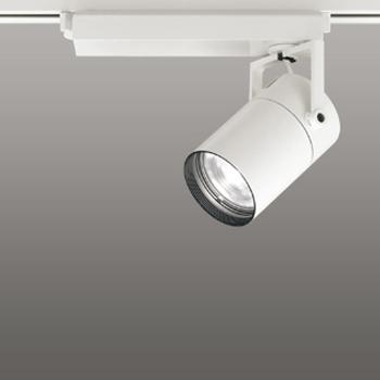 【送料無料】オーデリック LEDスポットライト CDM-T35W相当 2700K Ra95 配光角23° オフホワイト 調光可能 レール取付専用 XS512115HBC