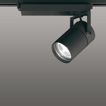【送料無料】オーデリック LEDスポットライト CDM-T35W相当 3500K Ra83 配光角スプレッド ブラック 調光可能 レール取付専用 XS512136BC