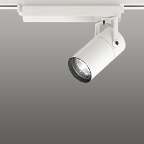 【送料無料】オーデリック LEDスポットライト CDM-T35W相当 2700K Ra95 配光角16° オフホワイト 調光可能 レール取付専用 XS513107HBC