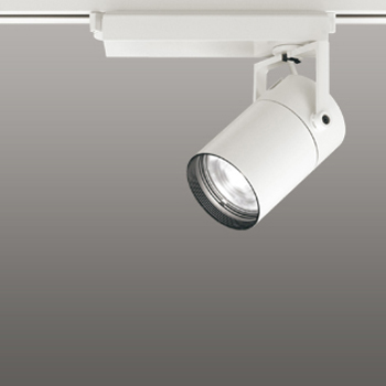 【送料無料】オーデリック LEDスポットライト CDM-T35W相当 4000K Ra95 配光角スプレッド オフホワイト レール取付専用 XS512133H