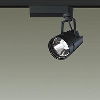 【送料無料】大光電機 LEDスポットライト Φ50ダイクロハロゲン12V85W形相当 3500K Ra83 配光角20° ブラック レール取付専用 LZS-91753AB