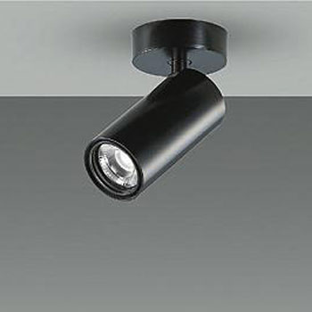 【送料無料】大光電機 LEDスポットライト Φ50ダイクロハロゲン12V85W形相当 2700K Ra83 配光角13° ブラック 調光可能 フランジタイプ LZS-92543LB