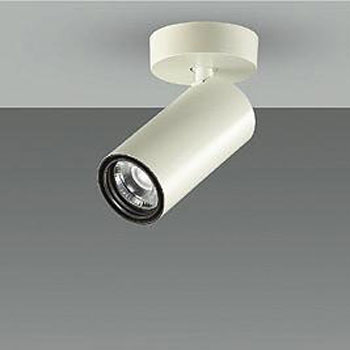 【送料無料】大光電機 LEDスポットライト Φ50ダイクロハロゲン12V85W形相当 3500K Ra83 配光角25° オフホワイト 調光可能 フランジタイプ LZS-92545AW