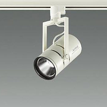 【送料無料】大光電機 LEDスポットライト Φ50ダイクロハロゲン12V85W形相当 4000K Ra96 配光角20° オフホワイト 調光可能 レール取付専用 LZS-92653NWV