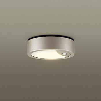 【送料無料】パナソニック LED軒下シーリング センサ付 白熱球100W相当 電球色 プラチナメタリック LSEWC4069LE1