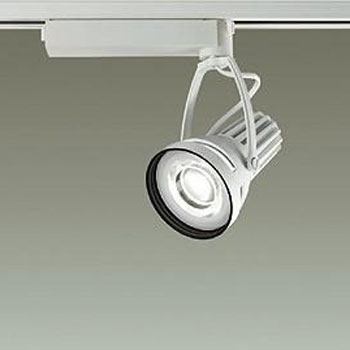 【送料無料】大光電機 LEDスポットライト CDM-T35W相当 鮮魚用 配光角25° オフホワイト レール取付専用 LZS-91515SW