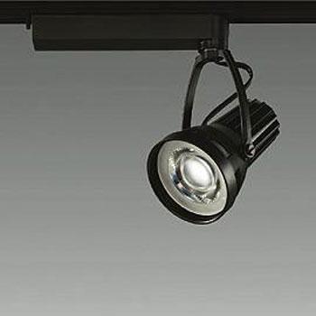 【送料無料】大光電機 LEDスポットライト CDM-T35W相当 精肉用 配光角35° ブラック レール取付専用 LZS-91516MBE