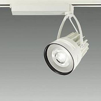 【送料無料】大光電機 LEDスポットライト CDM-T70W相当 精肉用 配光角35° オフホワイト レール取付専用 LZS-92403MW