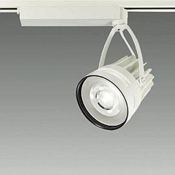 【送料無料】大光電機 LEDスポットライト CDM-T70W相当 鮮魚用 配光角35° オフホワイト レール取付専用 LZS-92403SW