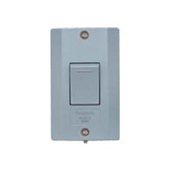 パナソニック 防水埋込スイッチB 片切 WS60219H 安全 メーカー在庫限り品 ライトグレー