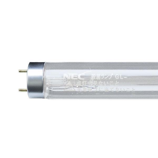 【送料無料】NEC 殺菌ランプ 20W形 グロースタータ形 [10本セット] GL-20-10SET