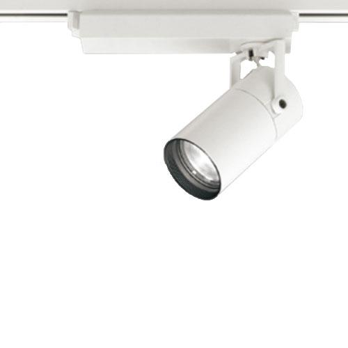 【送料無料】オーデリック LEDスポットライト CDM-T35W相当 4000K Ra83 配光角スプレッド オフホワイト レール取付専用 XS513133