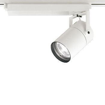 【送料無料】オーデリック LEDスポットライト CDM-T70W相当 4000K Ra83 配光角スプレッド オフホワイト 調光可能 レール取付専用 XS511125BC