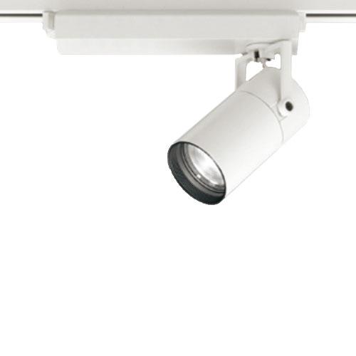 【送料無料】オーデリック LEDスポットライト CDM-T35W相当 3000K Ra83 配光角スプレッド オフホワイト 調光可能 レール取付専用 XS513137BC