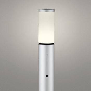 【送料無料】オーデリック LEDエクステリアライト 白熱球60W相当 電球色 明暗センサ付 シルバー OG254652LD