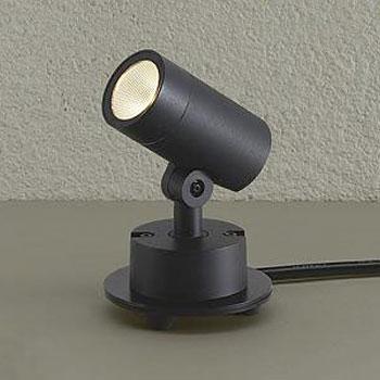 【送料無料】大光電機 LEDエクステリアライト ダイクロハロゲン50W相当 電球色 ブラック DOL-5211YB