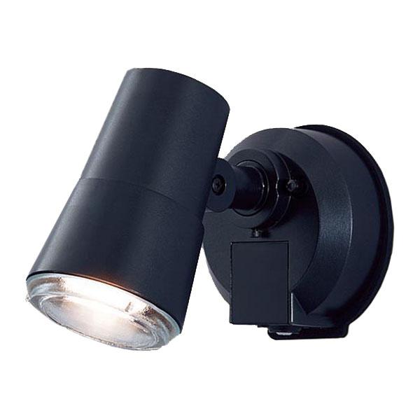 【送料無料】パナソニック LEDスポットライト センサ付 白熱球50W相当 電球色 フラッシュ機能付 LGWC45001BK