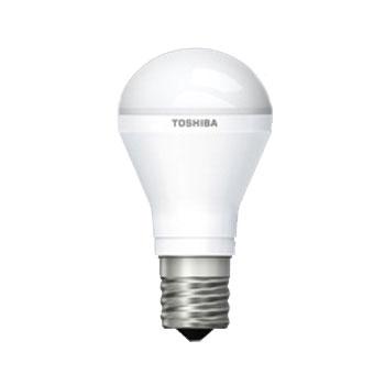【送料無料】東芝 LED電球 ミニクリプトン形 50W形相当 電球色 口金E17 断熱材施工器具対応 下方向タイプ [10個セット] LDA6L-H-E17/S50W/2-10SET