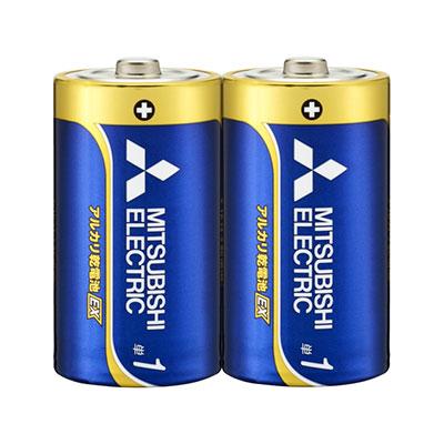 送料無料 三菱 アルカリ乾電池 単1形 セール価格 100本セット 日本製 2S-50SET LR20EXD