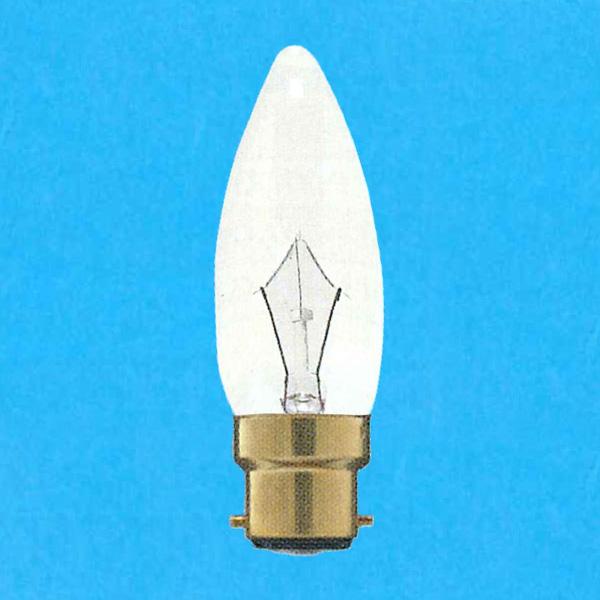 アサヒ チープ シャンデリア電球 110V 至上 10W 直径32mm 口金B22D 25個セット C C32B22D110V-10W -25SET クリヤー