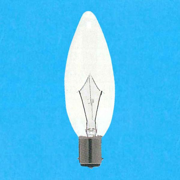 アサヒ シャンデリア電球 100-110V 40W お求めやすく価格改定 直径32mm 口金B15D C32B15D100 C -25SET クリヤー 25個セット 出荷 110V-40W