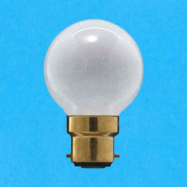 アサヒ ボール電球 100-110V 在庫一掃 訳あり品送料無料 25W 直径50mm 口金B22D G50B22D100 -25SET F 110V-25W フロスト 25個セット