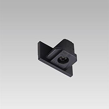 東芝 エンドキャップ 黒色 公式通販 NDR0232BK ファクトリーアウトレット ライティングレール用