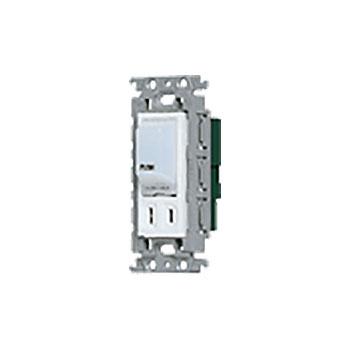 パナソニック 埋込ナイトライト 優先配送 スイッチ コンセント付 ホワイト 125V 15A 国内送料無料 WTF40014W