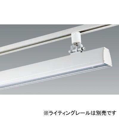 【送料無料】ユニティ LEDベースライト 40W×2灯相当 3000K ホワイト レール取付専用 [4台セット] UFL-8452W-30-4set