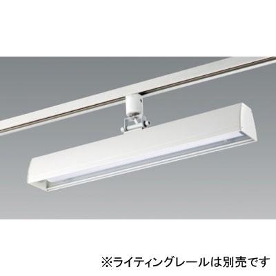 【送料無料】ユニティ LEDベースライト 30W×1灯相当 3500K ホワイト レール取付専用 [6台セット] UFL-8450W-35-6set