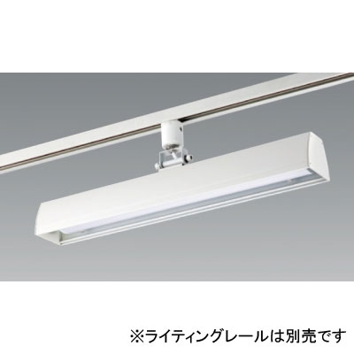 【送料無料】ユニティ LEDベースライト 30W×1灯相当 4000K ホワイト レール取付専用 [6台セット] UFL-8450W-40-6set