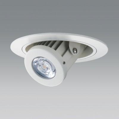 【あす楽】【送料無料】ユニティ LEDユニバーサルダウンライト ダウンスポットタイプ Φ100 3000K 12Vハロゲン50W形相当 中角 ホワイト UDL-1152MW-30