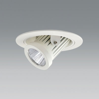【送料無料】ユニティ LEDユニバーサルダウンライト ダウンスポットタイプ Φ100 2700K 12Vハロゲン50W形相当 狭角 ホワイト UDL-1161NW-27