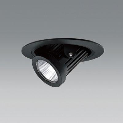 【送料無料】ユニティ LEDユニバーサルダウンライト ダウンスポットタイプ Φ100 2700K 12Vハロゲン50W形相当 中角 ブラック UDL-1161MB-27