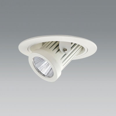 【送料無料】ユニティ LEDユニバーサルダウンライト ダウンスポットタイプ Φ100 2700K 12Vハロゲン50W形相当 広角 ホワイト UDL-1161WW-27