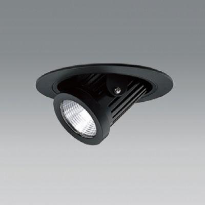 【送料無料】ユニティ LEDユニバーサルダウンライト ダウンスポットタイプ Φ100 3000K 12Vハロゲン50W形相当 広角 ブラック UDL-1161WB-30