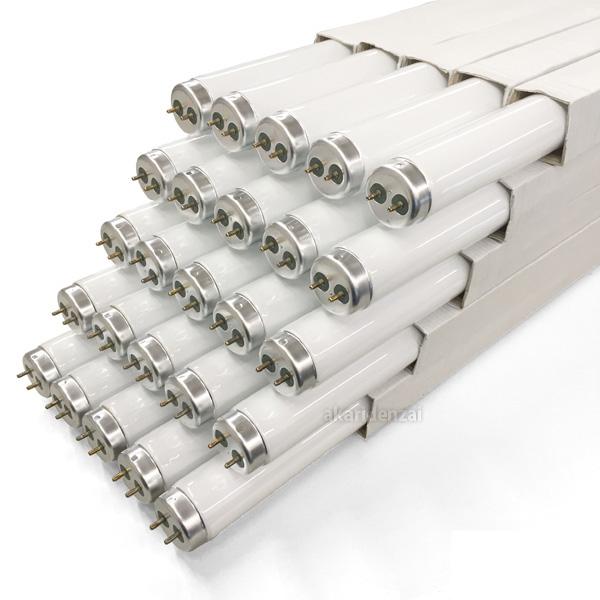 パナソニック 直管蛍光灯 20W形 白色 紫外線吸収膜付 グロースタータ形 [25本セット] FL20S・W・NUR-25SET