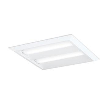 【あす楽】【送料無料】オーデリック LEDベースライト スクエア形 直付・埋込兼用 埋込穴□500 FHP32W×3灯相当 温白色 XL501016P1D