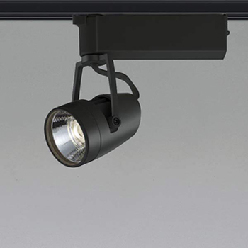 【送料無料】コイズミ照明 LEDスポットライト HID35W相当 3500K Ra97 配光角20° ブラック レール取付専用 XS46075L