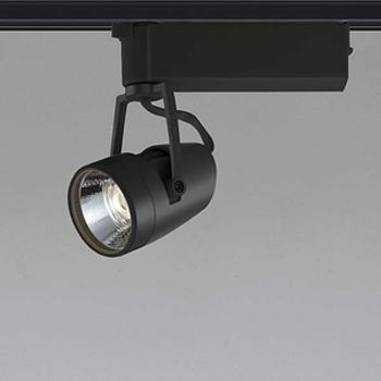 【送料無料】コイズミ照明 LEDスポットライト HID35W相当 3500K Ra97 配光角45° ブラック レール取付専用 XS46077L
