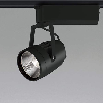 【送料無料】コイズミ照明 LEDスポットライト HID35W相当 3000K Ra97 配光角20° ブラック 調光可能 レール取付専用 XS46119L