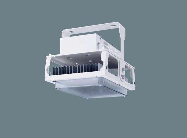 Panasonic NNY20501K LR9 天井直付型 LED(昼白色) 高天井用照明器具 拡散タイプ 連続調光型・調光タイプ(ライコン別売) パネル付型 水銀灯400形1灯器具相当 1500形