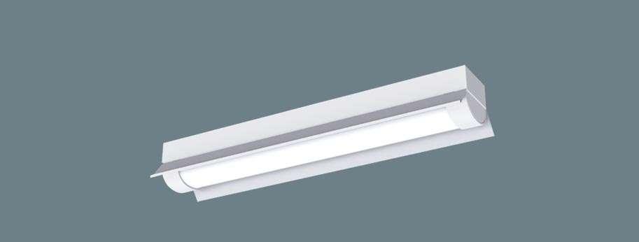 Panasonic XLW213KENKLE9 天井直付型 20形 一体型LEDベースライト 防湿型・防雨型 反射笠付型 直管形蛍光灯FL20形2灯器具相当 FL20形・1600 lm