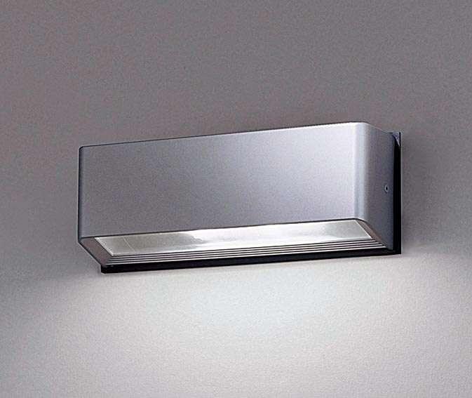 Panasonic NNY20230LE1 壁直付型 LED(昼白色) ブラケット 通路用・横長・対称配光 防雨型 パネル付型 コンパクト形蛍光灯FHT42形1灯器具相当 FHT42形