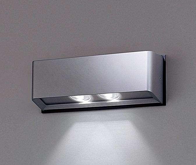 Panasonic NNY20235LE1 壁直付型 LED(昼白色) ブラケット 出入口用・集光形配光 防雨型 パネル付型 コンパクト形蛍光灯FHT42形1灯器具相当 FHT42形